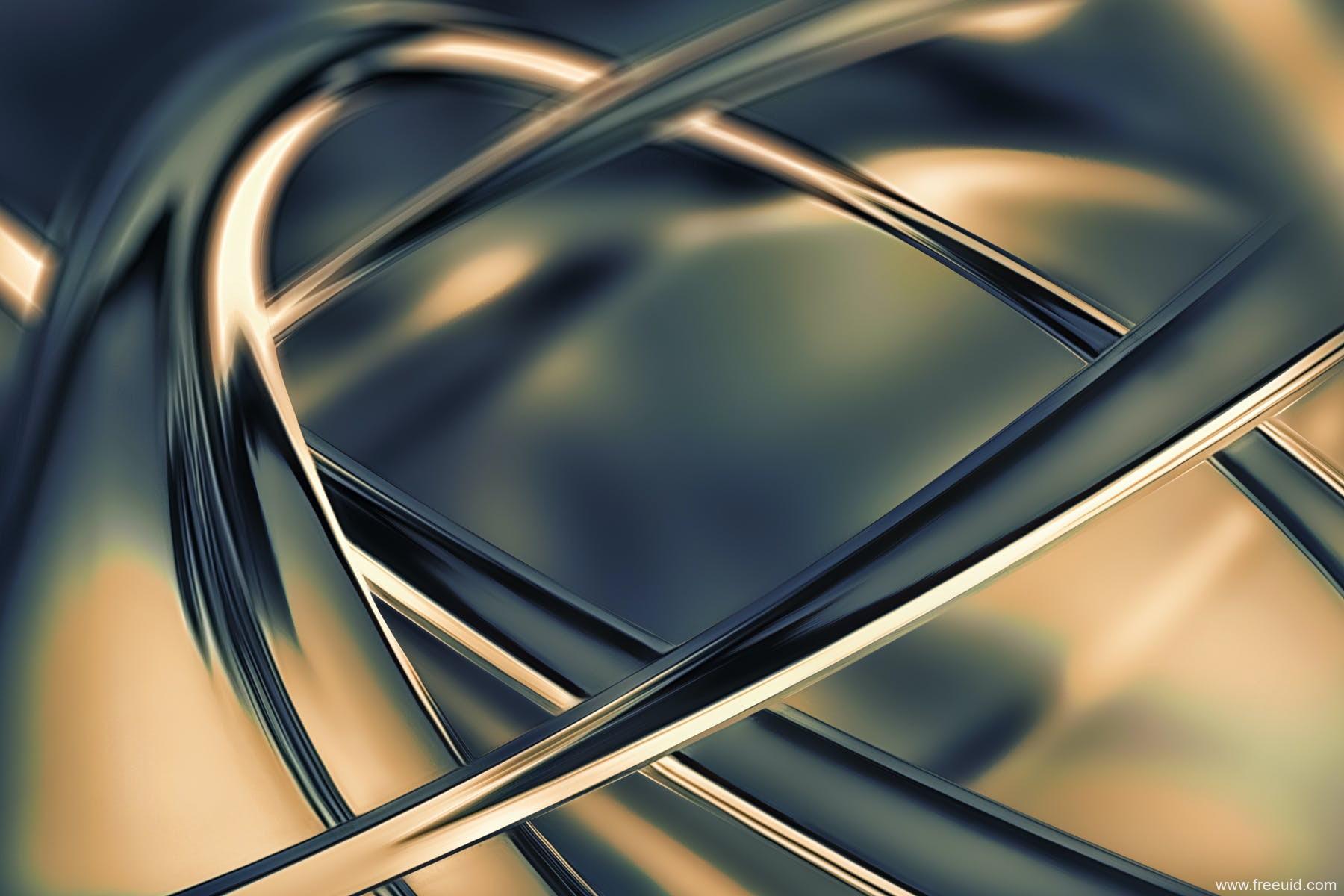 抽象铬金属质感高清背景图素材