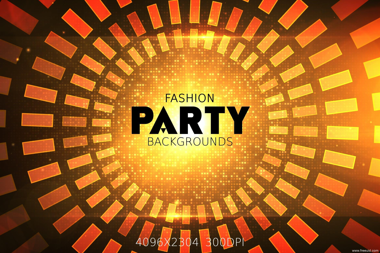 时尚派对专属金色颗粒感背景素材