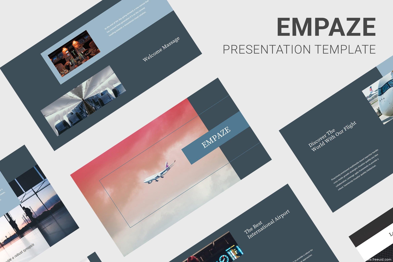 双色系企业展示Keynote幻灯片创意模板、年终汇报展示ppt模板、汇报幻灯片模板