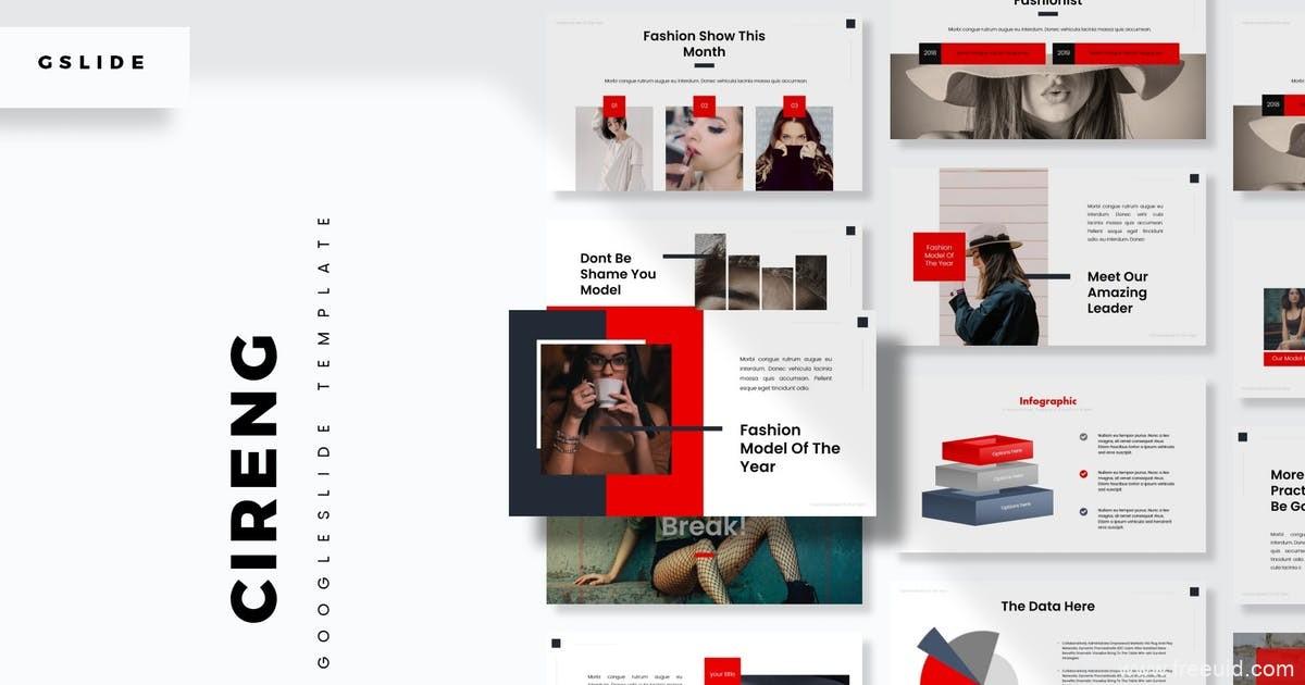 自我介绍Google幻灯片模板、设计师作品集包装展示PPT模板幻灯片
