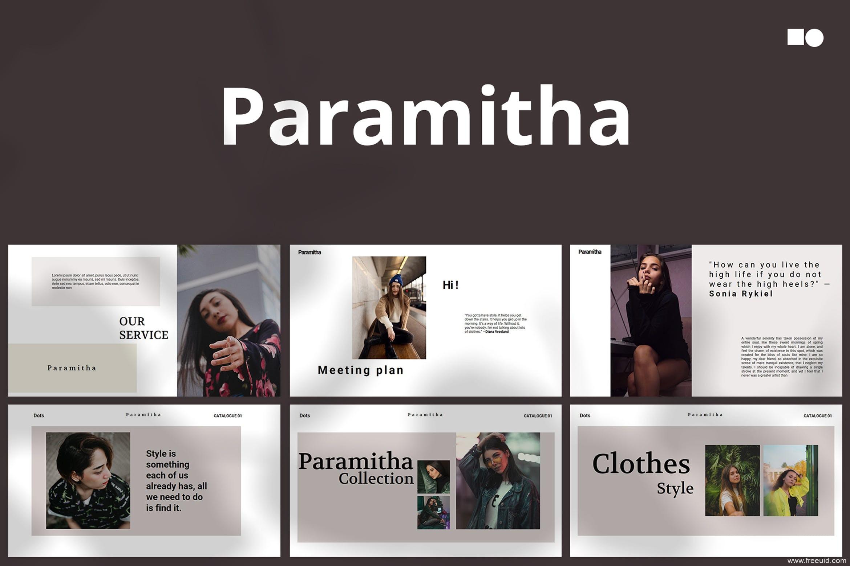 现代风格设计个人简介Keynote模板、高端设计师作品集包装PPT幻灯片模板
