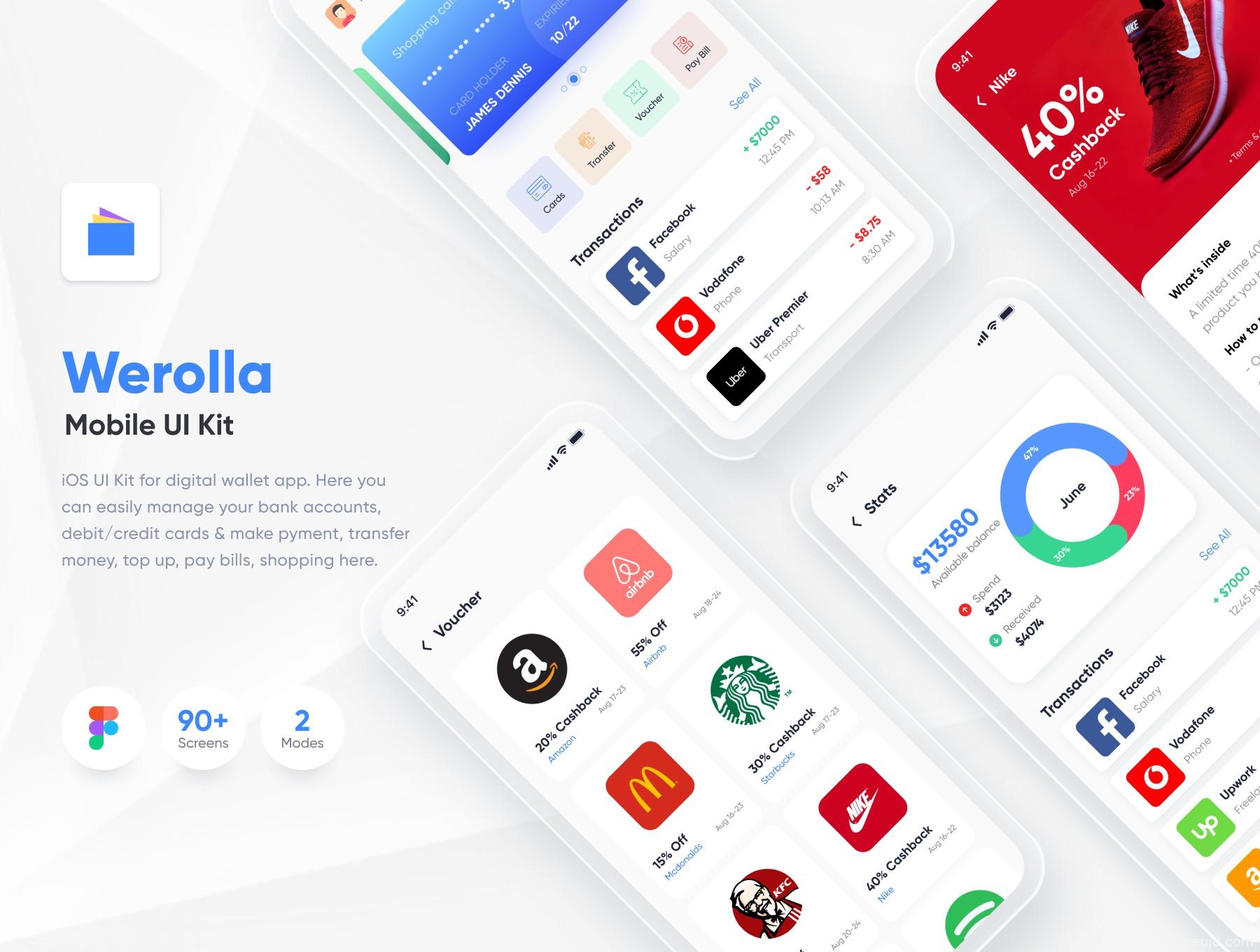 金融钱包app、银行app ui源文件下载,在线支付钱包app ui资源下载