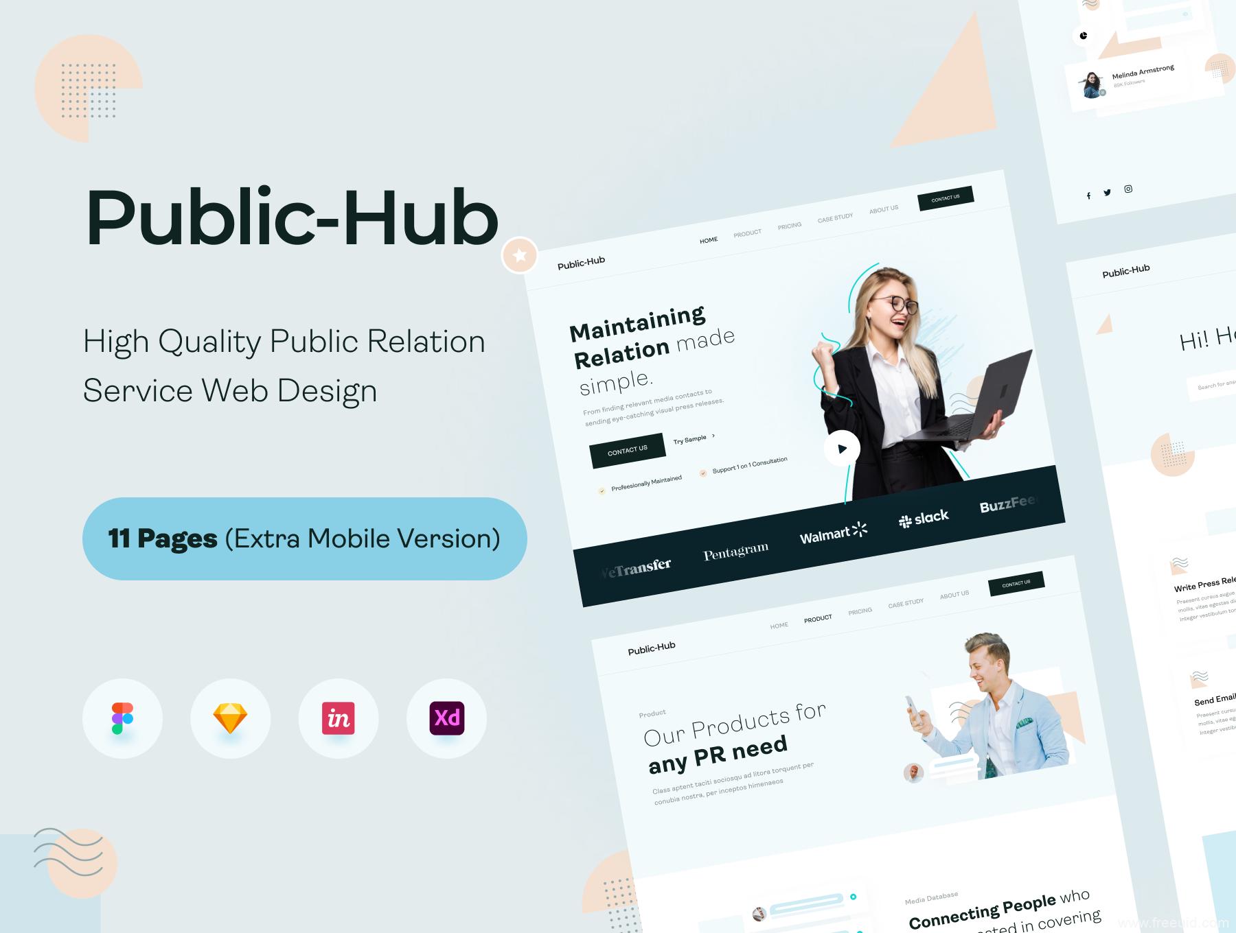 高端企业网站设计模板源文件,企业网站、高端着陆页设计ui源文件下载