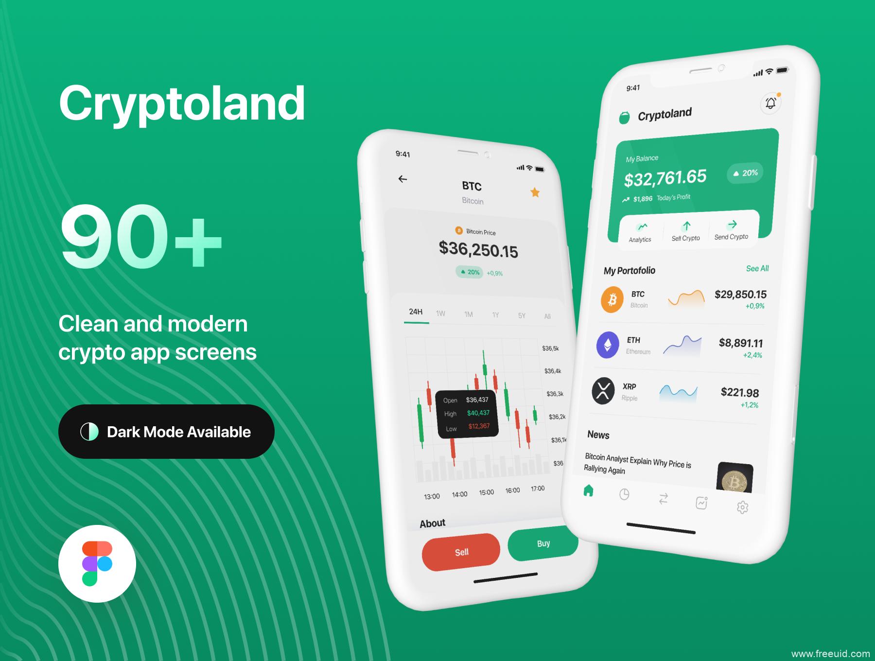 好看的金融股票app UI源文件,金融app UI素材源文件,加密市场app UI资源 sketch,fig,xd源文件